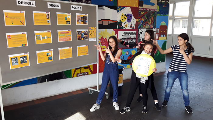 2017 deckel gegen polio elsa br ndstr m realschule for Impfung gegen polio